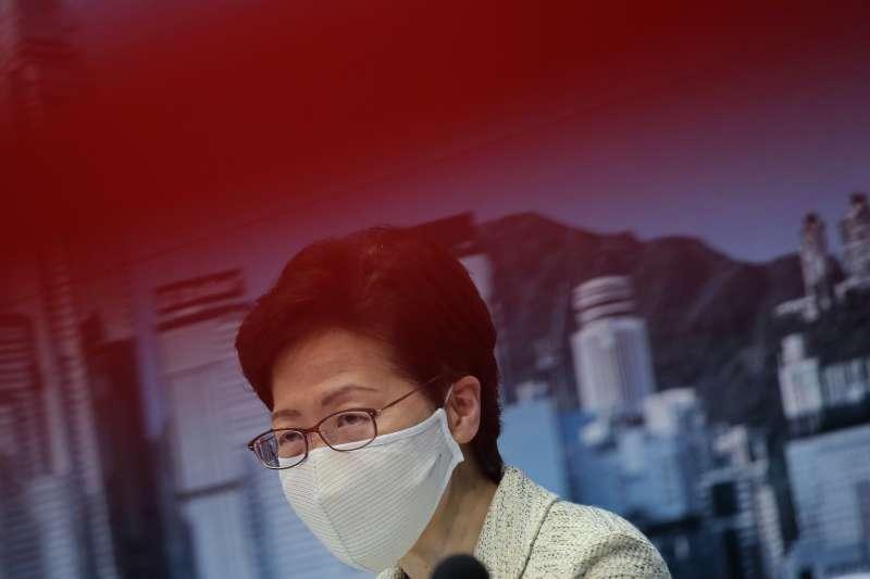 新冠肺炎疫情:香港特首林鄭月娥(AP)