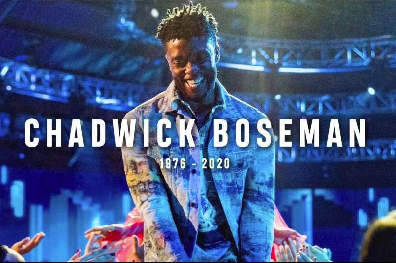 查德維克博斯曼(Chadwick Boseman)(AP)