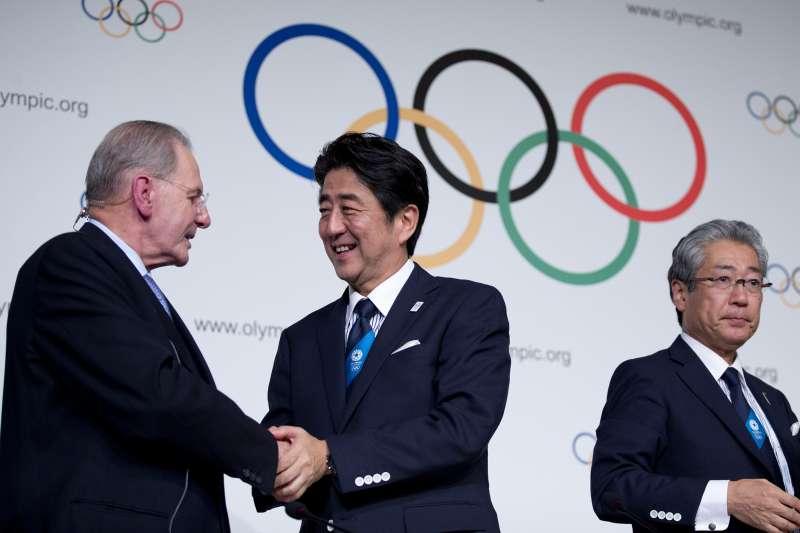 2020年/2021年東京奧運,也是日本首相安倍晉三的未竟之業(AP)