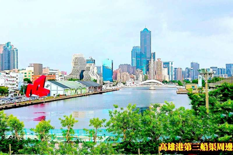 大港橋西側水域實景圖。(圖/港務公司提供)