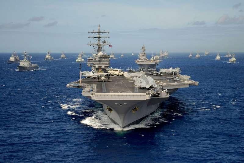 (翻攝自U.S. Pacific Fleet臉書)