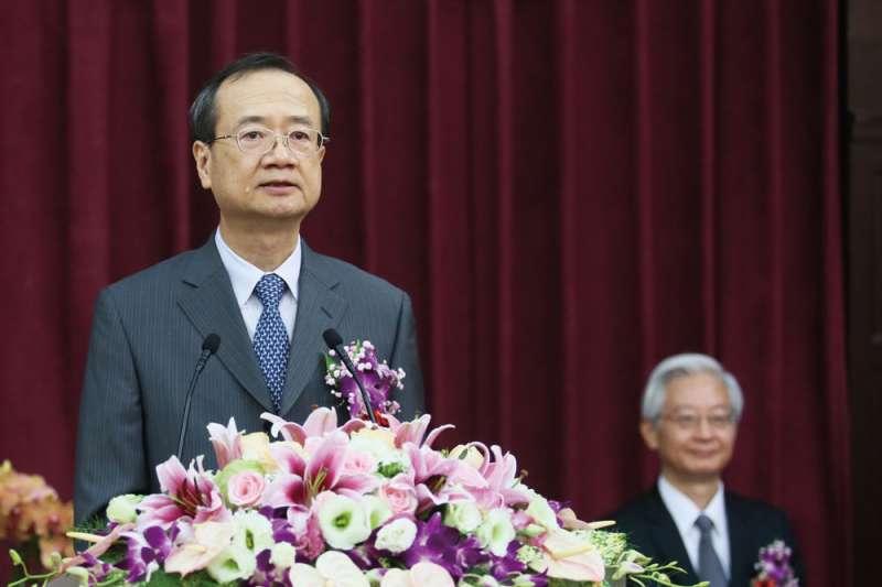 蔡英文總統表姐夫吳明鴻將出任最高行政院長引發爭議,該怪司法院長(圖)還是蔡英文?(柯承惠攝)