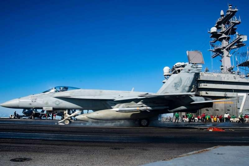 美軍今年已派三個航母戰鬥群在西太平洋維持恫嚇力。(翻攝自U.S. Navy臉書)