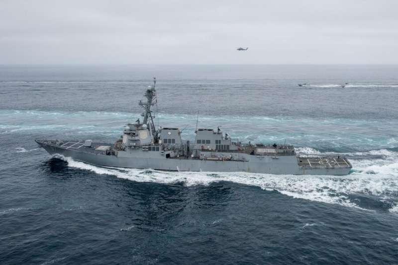 美軍海爾賽號驅逐艦(USS Halsey、DDG-97)。(美國海軍官網)