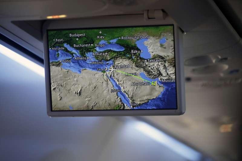 以色列與阿拉伯聯合大公國關係正常化:首度自以色列直飛阿聯班機(AP)