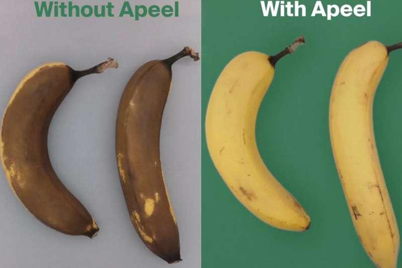 透過使用Apeel生物塗層技術,可以有效改善食品腐敗情況。(圖片來源:Apeel Sciences官網)(圖/食力foodNEXT提供)