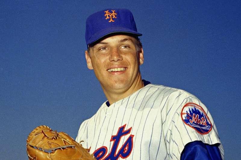 美國職棒大聯盟(MLB)紐約大都會隊(New York Mets)傳奇名將西佛(Tom Seaver)(AP)