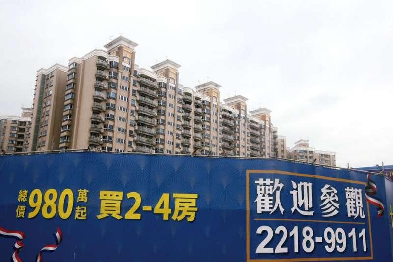 住展雜誌統計,大台北新推案7成8是預售屋創歷史新高,北市更高達9成,代表房市熱背後是投資需求旺。(資料照,柯承惠攝)