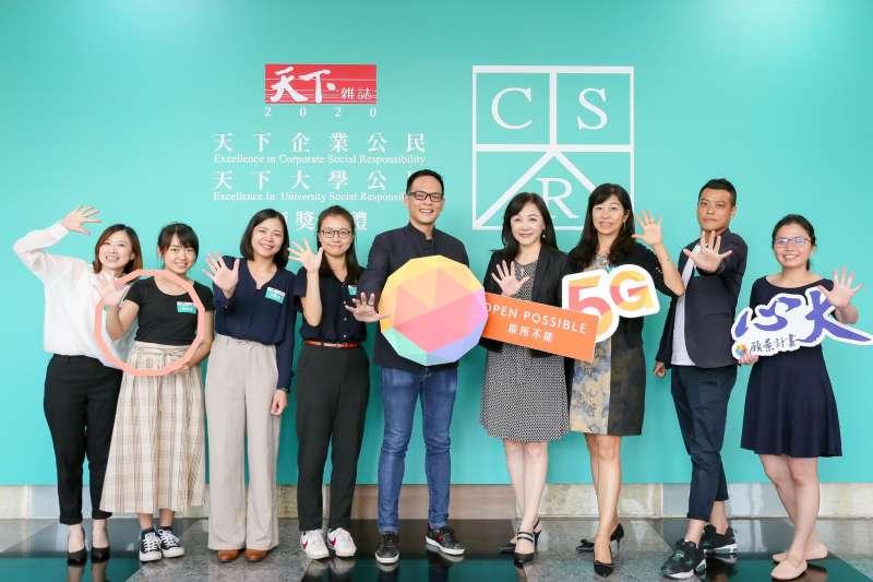 台灣大哥大全方位推動永續工程,已準備好用永續精神迎接5G時代的決心。(圖/台灣大哥大提供)