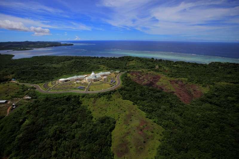 我國友邦帛琉呼籲美國建立軍事基地,對抗中國進逼。(AP)