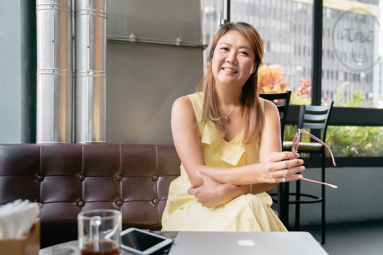 陳安儀離開記者工作後,全心全意陪伴孩子學習成長,也常在網路上分享自己的經驗。