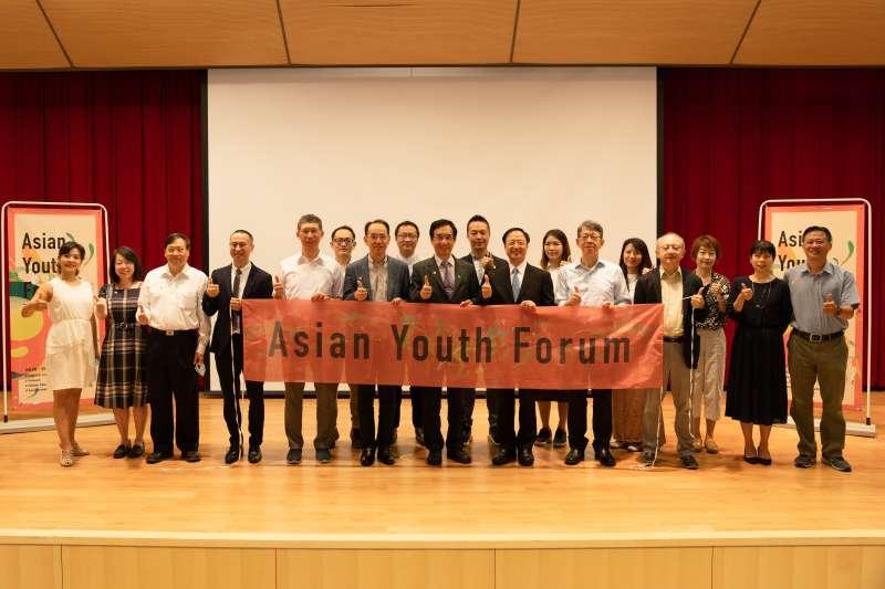長風基金會與國立清華大學立德計畫共同舉辦第1屆「亞洲青年論壇」。(長風基金會提供)