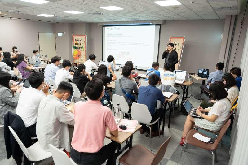 20200906-由長風基金會、國立清華大學立德計畫共同舉辦的第1屆「亞洲青年論壇」,邀請全球11個國家、共78位青年學生參與。(長風基金會提供)