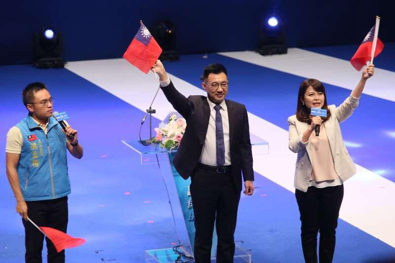國民黨近期積極經營官方推特,日前以日文反駁日媒引述台灣基進指國民黨是親「中」派的報導,表示國民黨是「中華民國派」。圖中為黨主席江啟臣。(資料照,柯承惠攝)