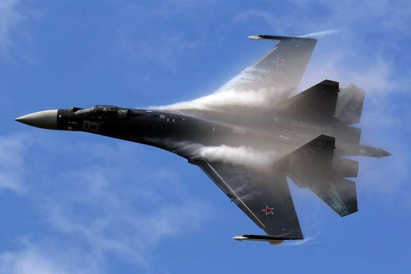 Su-35戰鬥機(Dmitry Terekhov@Wikipedia/CC BY-SA 2.0)