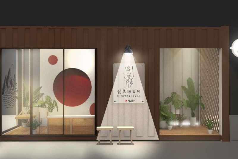 台灣塗鴉藝術家REACH與「錦鋐氣密窗」最新的跨界聯名作品,將於台北東區玻璃體驗屋呈現。(圖/錦鋐提供)