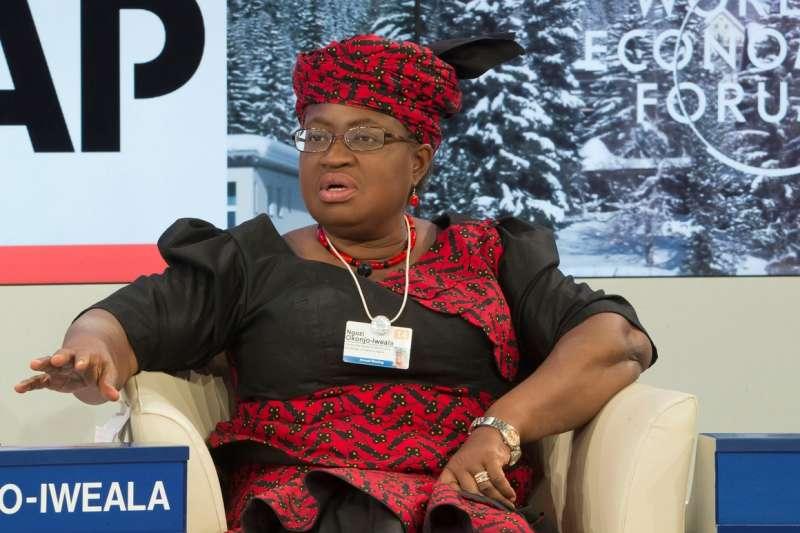 世界貿易組織(WTO)總幹事參選人、奈及利亞前財政部長歐康裘-伊威亞拉(資料照,AP)