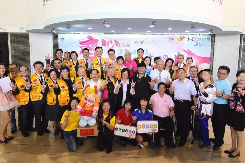 『齊心做公益 讓愛傳下去』2020公益嘉年華活動」,9月12日上午10時至下午2時於台灣玻璃廟舉行,7日在市府辦記者會邀更多民眾參與。(圖/彰化縣政府提供)