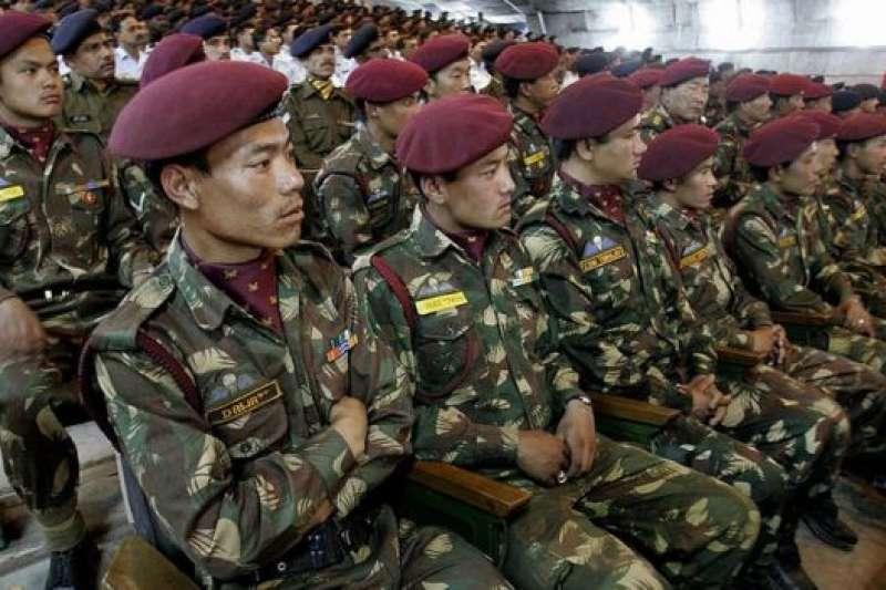 這支秘密部隊於1962年中印爆發邊境戰爭後不久創立。(BBC中文網)