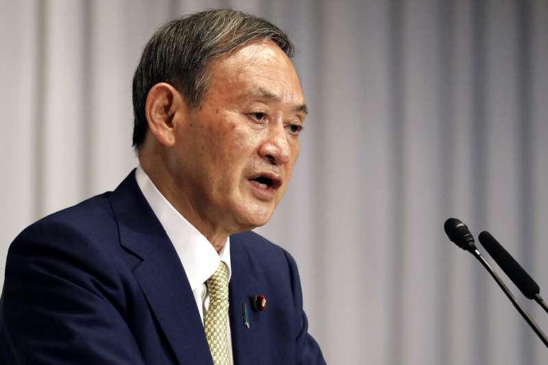 由菅義偉組閣,是日本自民黨派系妥協下的結果。(美聯社)
