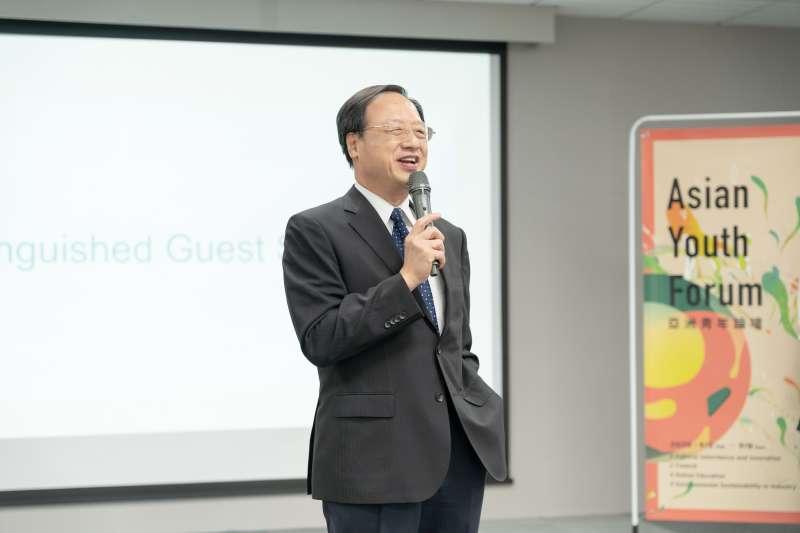 20200908-長風基金會董事長江宜樺。(長風基金會提供)