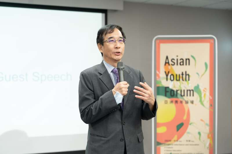 20200908-清華大學副校長信世昌。(長風基金會提供)