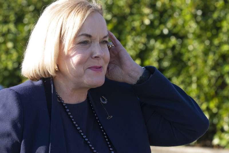 紐西蘭「國家黨」黨魁柯琳絲。(AP)