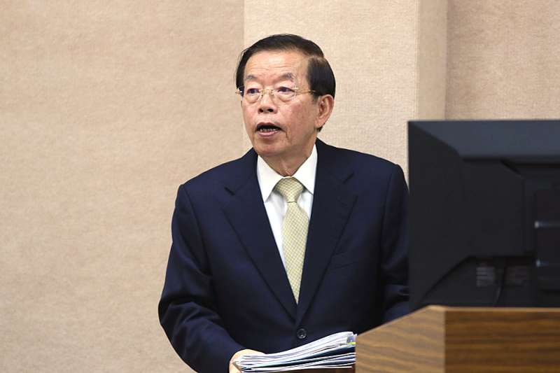 駐日代表謝長廷(見圖)表示,反對核食輸入,但不是核食、沒有輻射污染的食品當然要開放。(資料照,柯承惠攝)