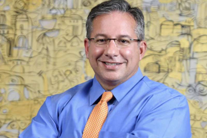 龐德明任開發金總經理暨執行長,是台灣首位外籍金控總經理。(翻攝自中華開發金控網站)