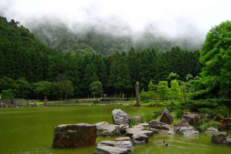 宜蘭太平山周邊景點-明池森林遊樂區。(圖/Tripbaa趣吧!亞洲自由行專家)