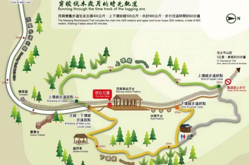 宜蘭太平山景點-檜木原始林步道。(圖/太平山國家森林區官網)