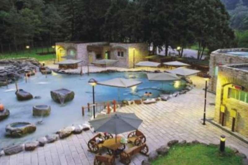 宜蘭太平山景點-鳩之澤溫泉。(圖/太平山國家森林區官網)