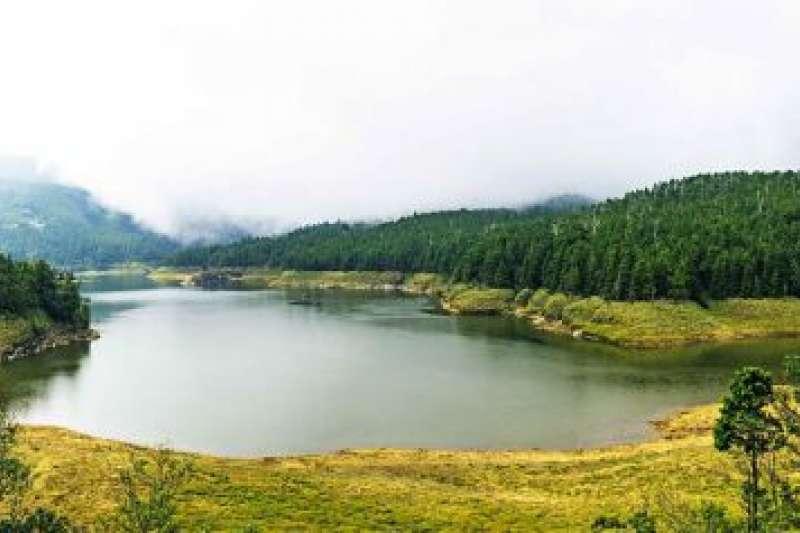 宜蘭太平山景點-翠峰湖。(圖/Tripbaa趣吧!亞洲自由行專家)