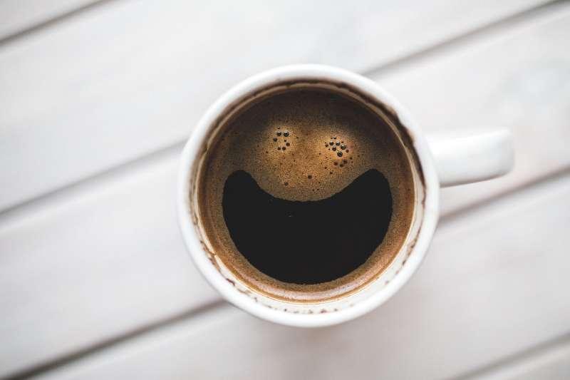 黑咖啡(圖/pixabay)