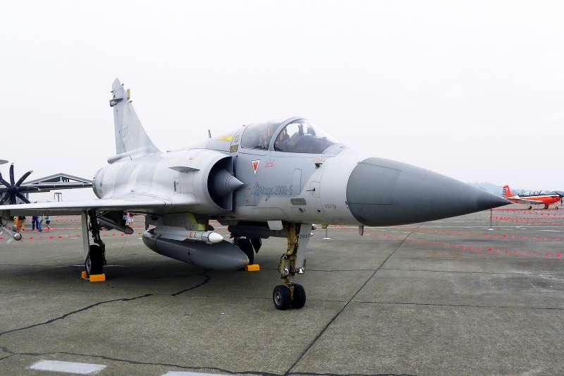 幻象2000-5戰機。(玄史生@WikiPedia/CC BY-SA 3.0)