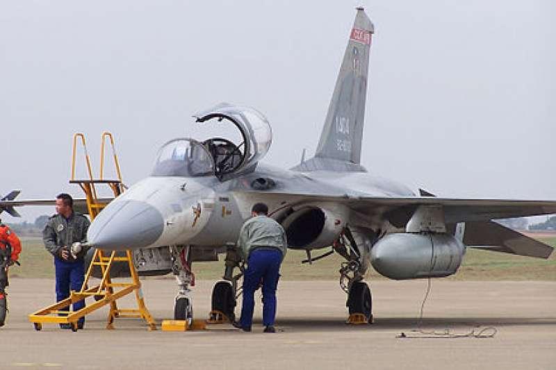 經國號戰機。(王常松@Wikipedia/CC BY-SA 2.5)