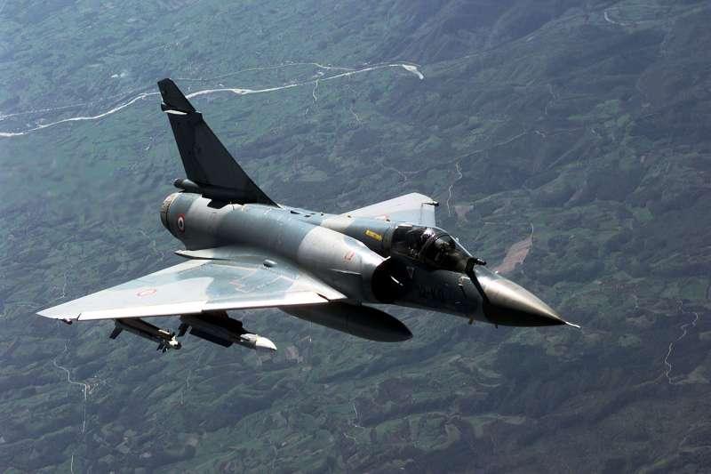 法國空軍所屬之幻象2000C。(美國空軍官網)