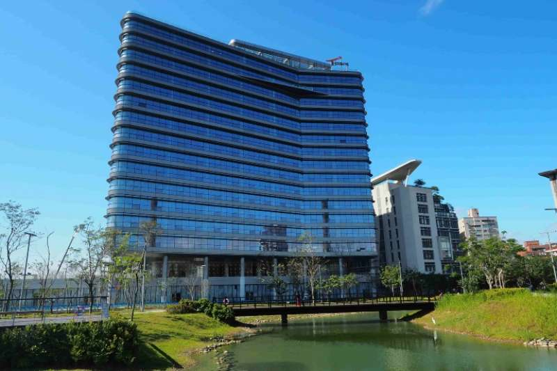Google新總部位於板橋遠東通訊園區,上千名員工將於今年底陸續進駐。(台北遠東通訊園區提供)