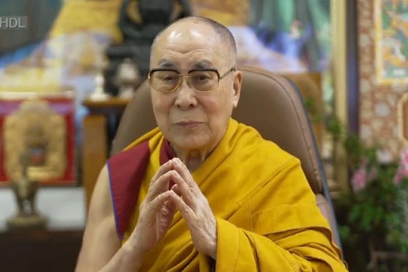達賴喇嘛。(翻攝達賴臉書)