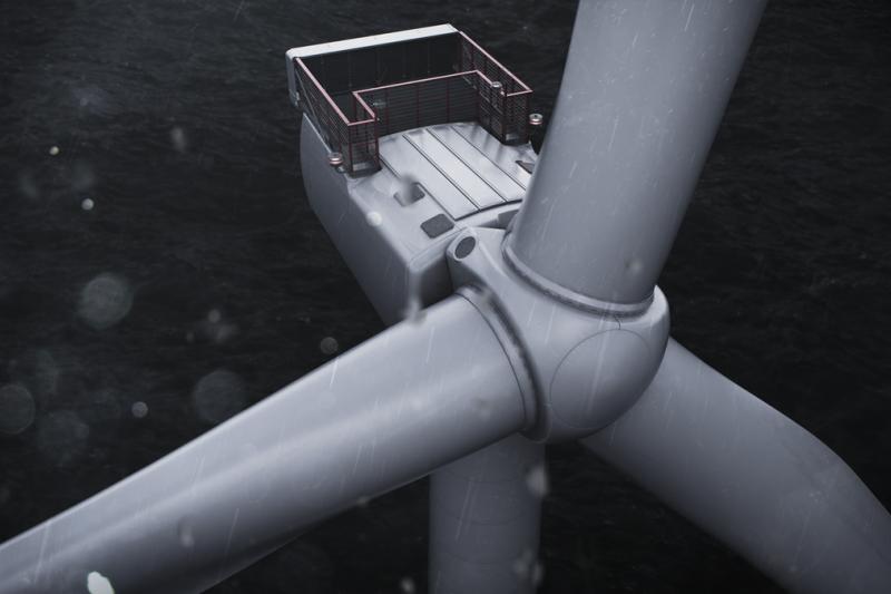 MHI Vestas攜手先進華斯複材科技在高雄製造風機零組件,再次實踐本土化承諾。(MHI Vestas提供)