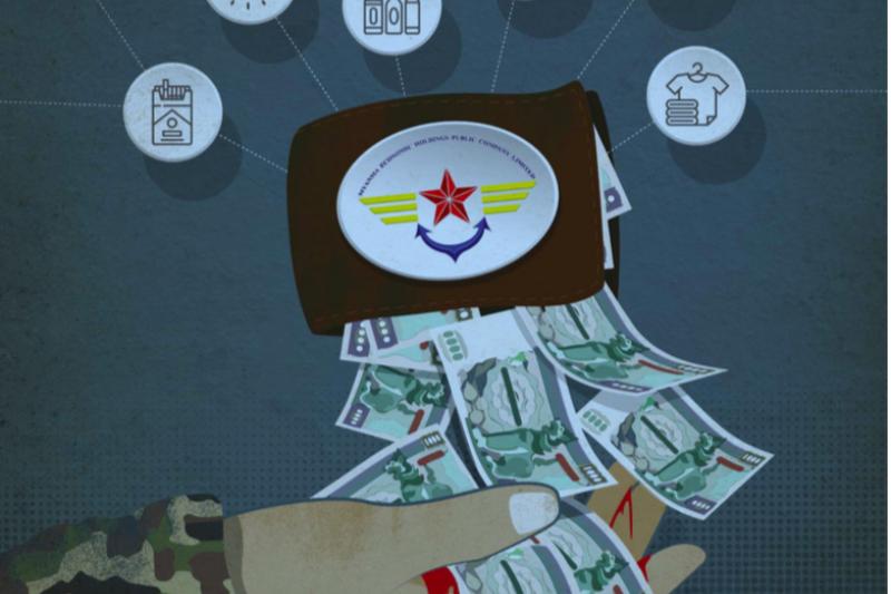 國際特赦組織調查報告踢爆,多家國際企業與緬甸經濟控股(MEHL)合作,MEHL由緬甸軍方高層掌控。(國際特赦組織)