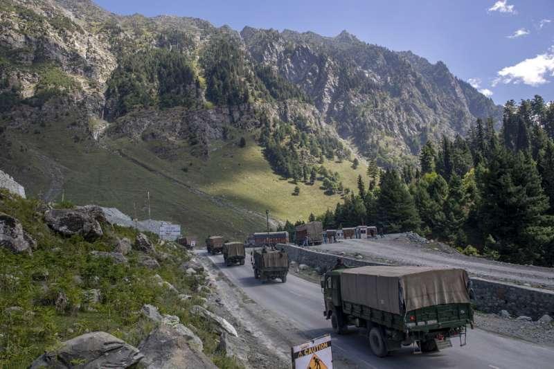 中印兩國在邊境拉達卡地區衝突不斷。(美聯社)