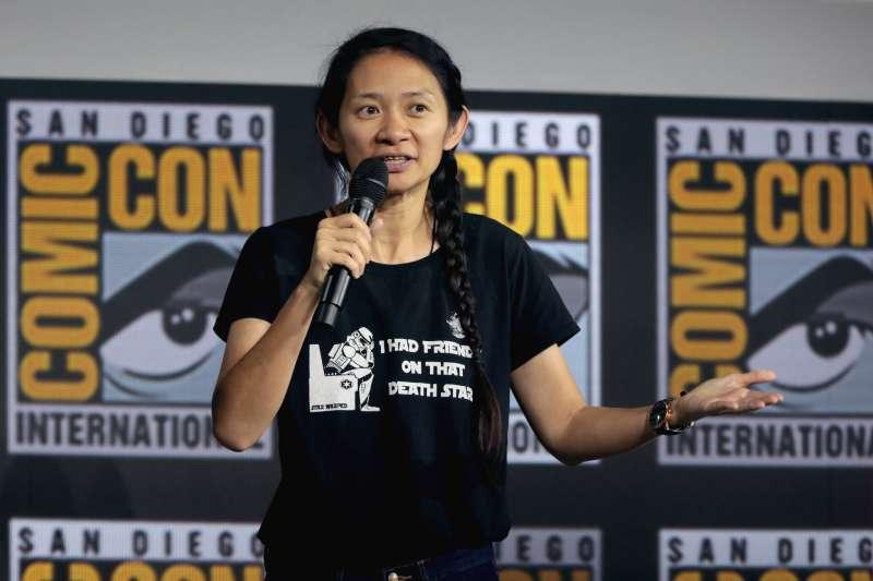 華裔女導演趙婷勇奪威尼斯金獅獎。(Gage Skidmore@Flickr/CC BY-SA 2.0)