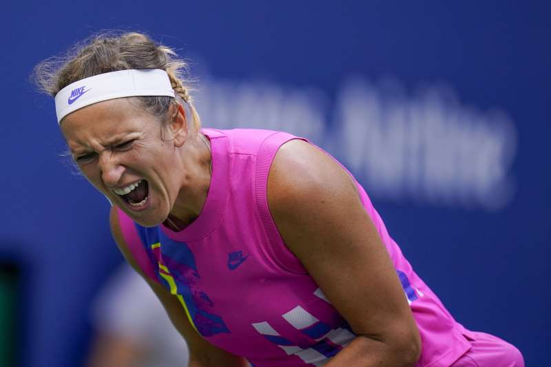2020年9月12日,美網女單決賽,艾薩蘭卡遭大坂直美擊敗,痛失后冠(AP)