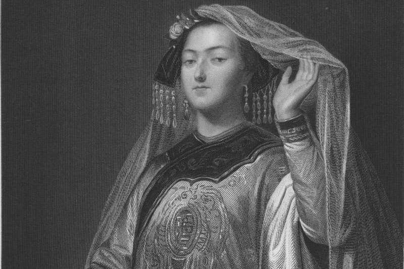 經典歌劇《杜蘭朵公主》的原型人物是13世紀蒙古公主忽圖倫(Wikipedia/Public Domain)