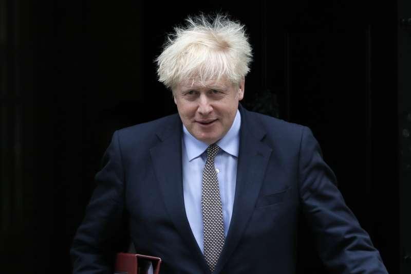 英國首相強森。英國通過違反《退出協議》的法案,保守黨內部也多有批判。(AP)
