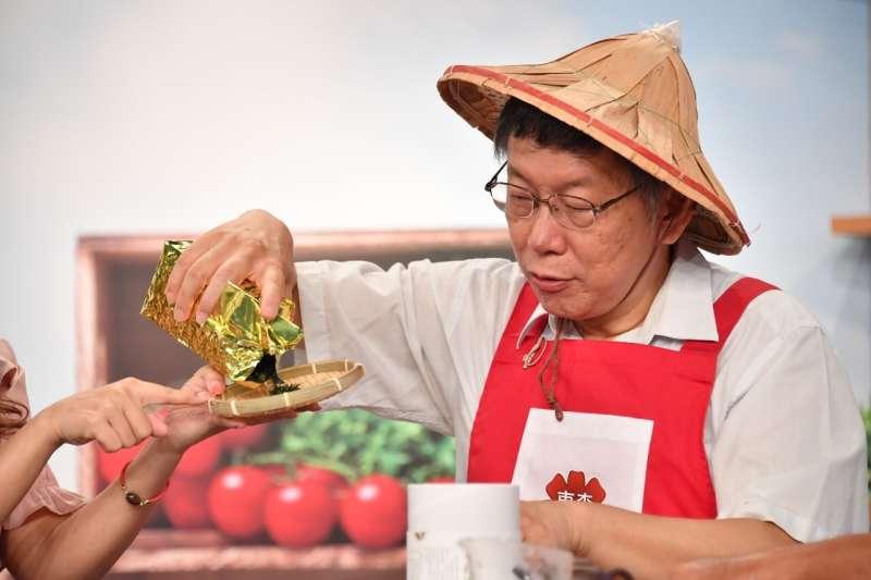 台北市長柯文哲今(15)日被問到美豬相關議題時表示,他相信民進黨政府現在也是很頭痛,但事已至此,還是要做好源頭管理。(資料照,北市府提供)