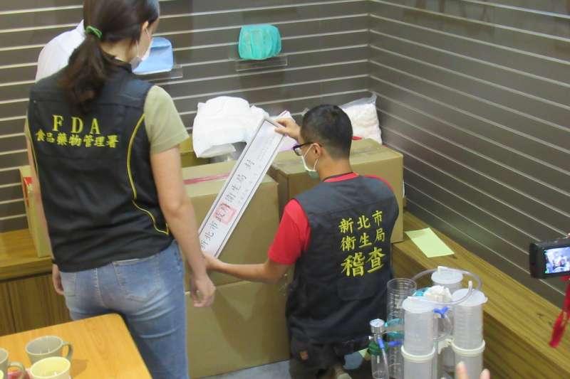 勤達醫藥器材公司利用中國製口罩混充馬來西亞製口罩,淡江大學全球發展學院院長包正豪對此批評「用行政手段管制經濟行為注定失敗」。(資料照,新北市衛生局提供)