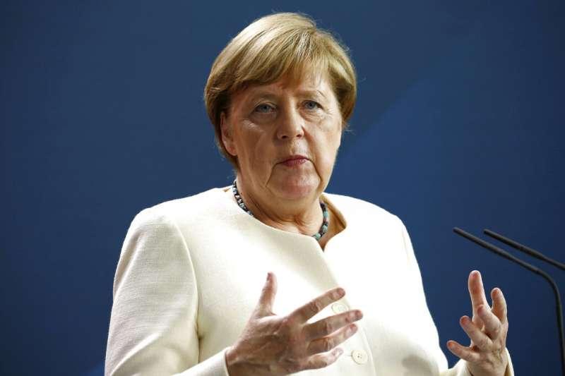 歐盟輪值主席國德國總理梅克爾。(美聯社)