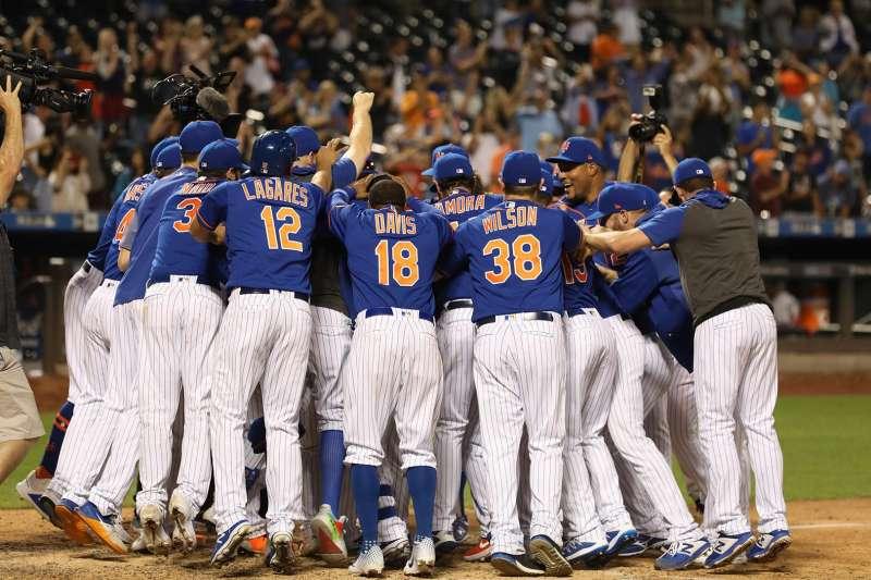 美國職棒大聯盟MLB紐約大都會(New York Mets)。(圖/取自New York Mets臉書)